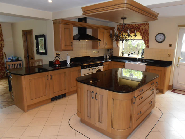 Customer testimonials case studies from alderwood fitted for Oak fitted kitchen