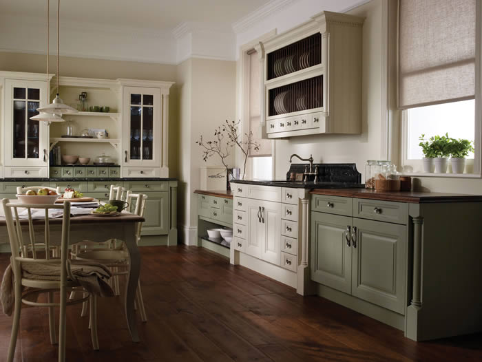 The Cornell Painted Classic Kitchen