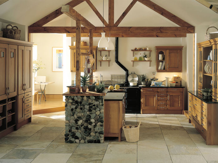 oak country kitchens. Unique Country The Croft Oak Classic Kitchen Intended Country Kitchens
