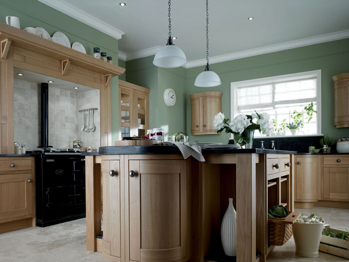 Classic country kitchen designs by alderwood fitted furniture for Cheap fitted kitchens