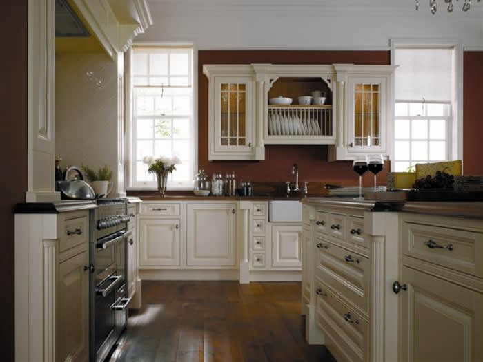 Classic country kitchen designs by alderwood fitted furniture for Period kitchen design