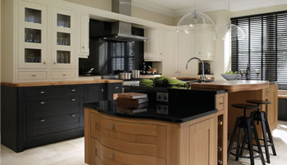 Contemporary style fitted kitchen by Alderwood Furniture