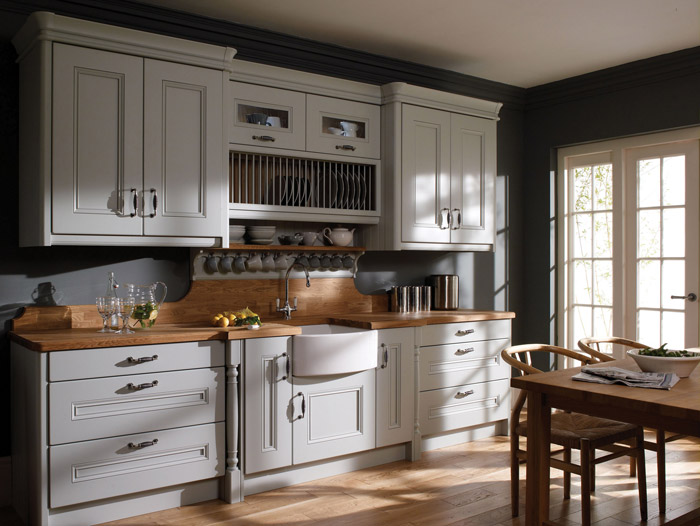 Classic Contemporary Hand Painted Kitchens By Alderwood